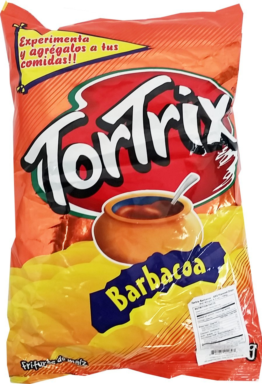 Tortrix Barbecue 6.35 oz -Tortrix Barbacoa Paquete Familiar (Pack of 1)