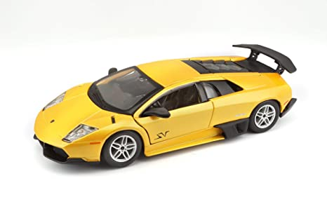 Buy Bburago 1 24 Lamborghini Murcielago Lp 670 4 Sv Yellow Online