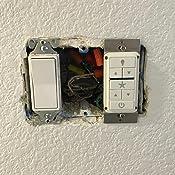 Casablanca 99195 Fan Amp Light Wall Remote Control White