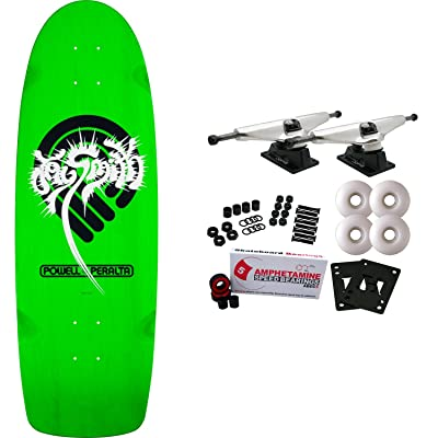 "Powell-Peralta Skateboard Complete Jay Smith Green 10"" x 31"": Toys & Games"