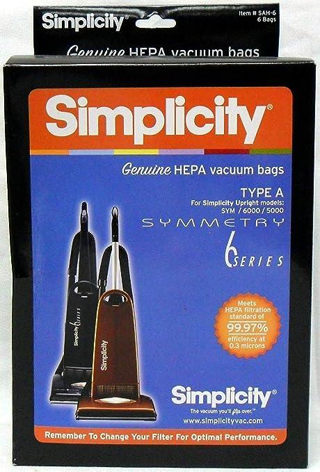 Amazon.com: Simplicity - Pack de bolsas para aspiradora Tipo ...