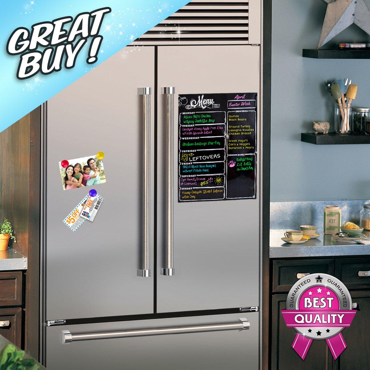 mua sản phẩm weekly dry erase meal planner board calendar fridge
