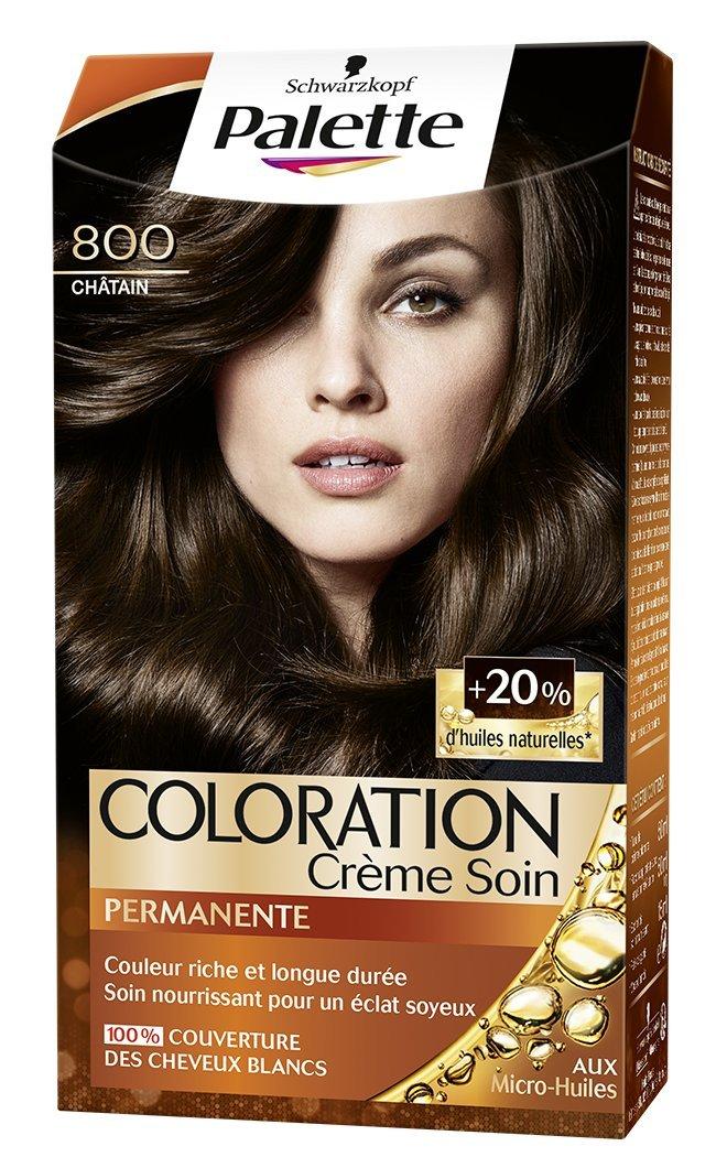 Schwarzkopf Palette - Coloration Permanente - Chatain 800