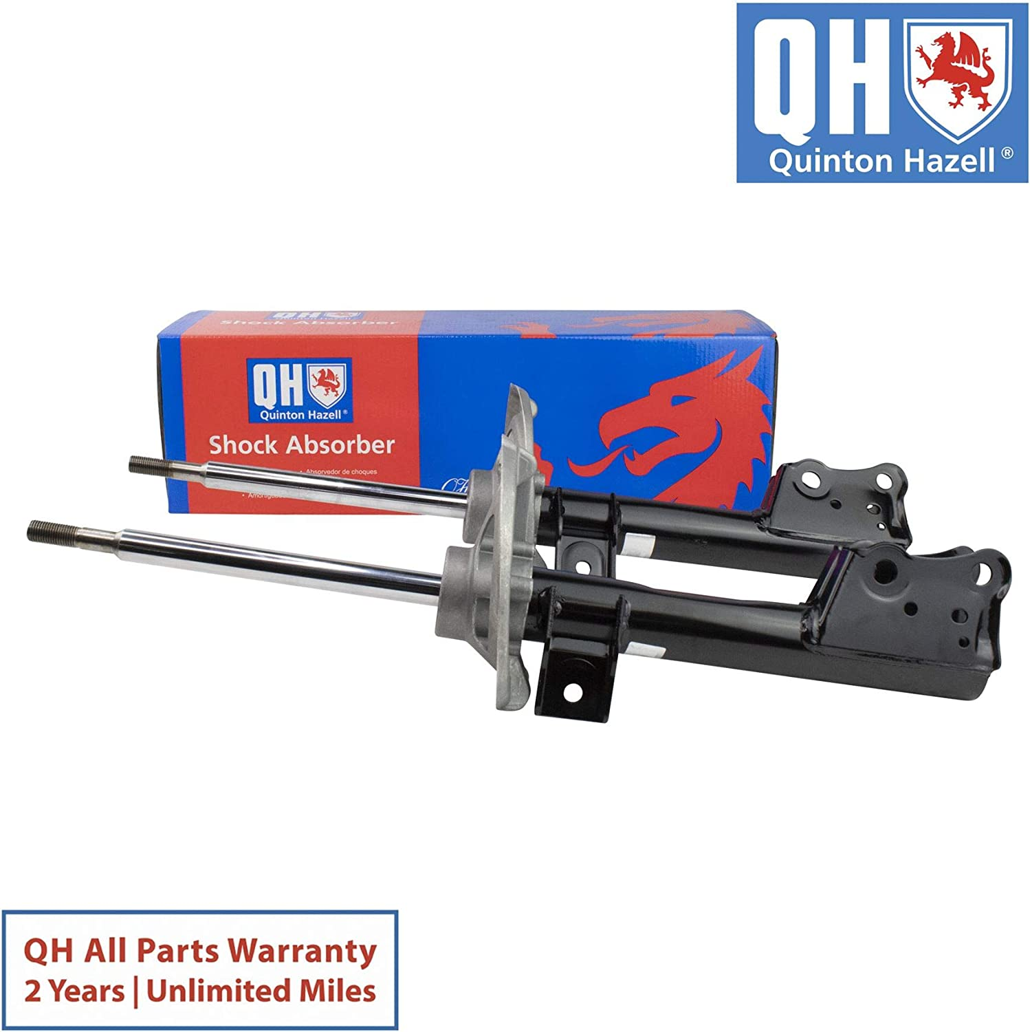 Quinton Hazell Pair of Front Axle Shock Absorbers QAG178727