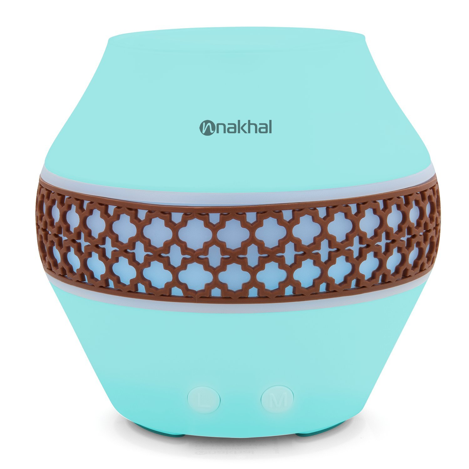 Nakhal 120 ml Aromatherapy Essential Oil Diffuser、超音波クールなミスト加湿器で7色LEDライト変更 – Classical B0714HQ77T