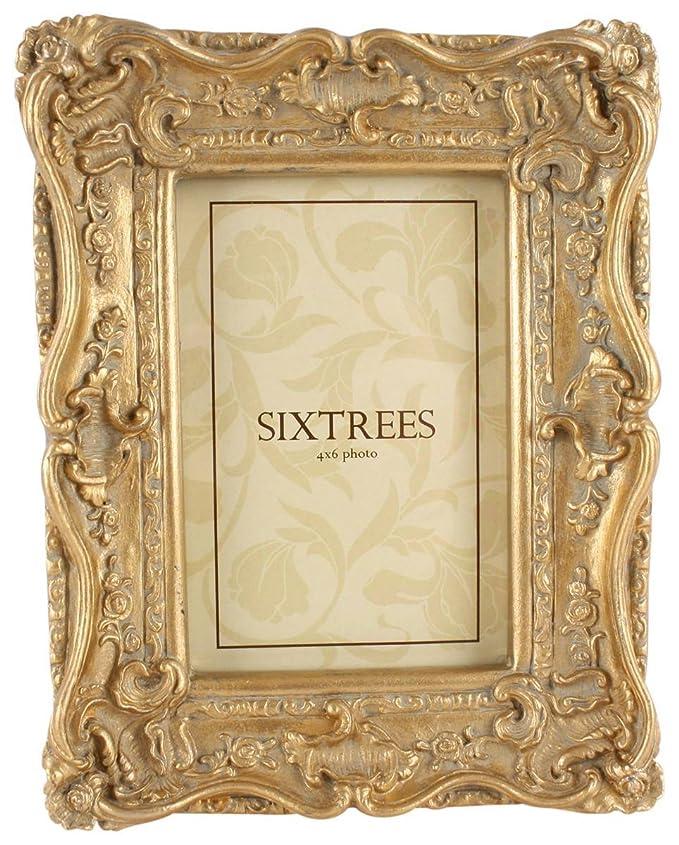 Gold- Chelsea Resin Bilderrahmen 4x6 von Sixtrees: Amazon.de: Bekleidung