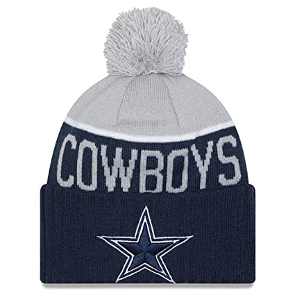 450f1b07 Dallas Cowboys Grey/Navy 2015 Onfield Sport Knit
