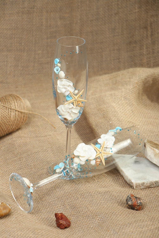 Copas de boda en estilo marino Brisa: Amazon.es: Hogar