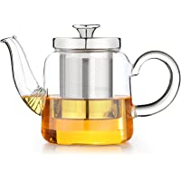 Tetera para té, con colador de Acero Inoxidable
