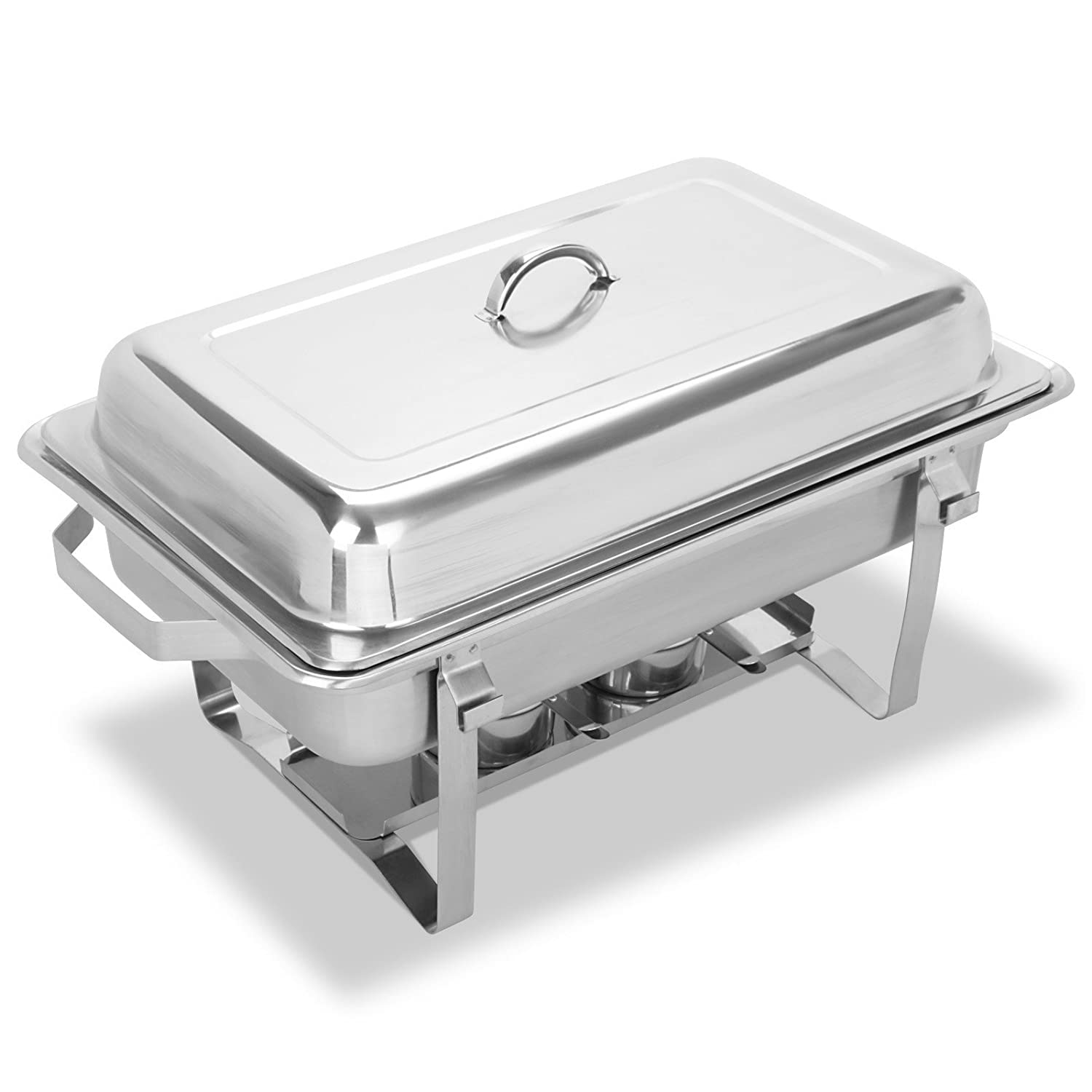 Milan Chafing Dish Pack of 1 x GN 1//1 stainless steel chafer.