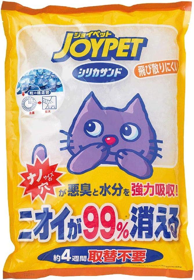JOYPET(ジョイペット) 猫砂 シリカサンドクラッシュ 4.6L