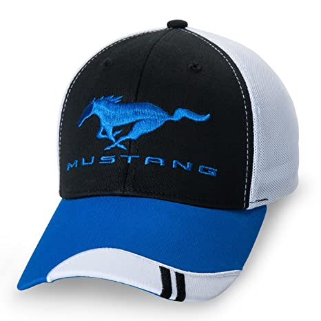 Amazon.com  Ford Mustang Mesh Fitted Baseball Cap by Ford ... 489479ef2cdc