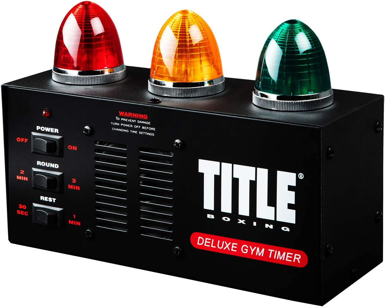TITLE Boxing Deluxe Gym Timer : Boxing Ring Parts And Accessories : Sports & Outdoors