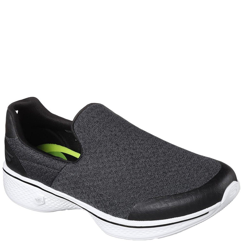 Skechers Performance Women's Go Walk 3 Slip-On Walking Shoe B07CRBZS8M 6.5 B(M) US|Black White