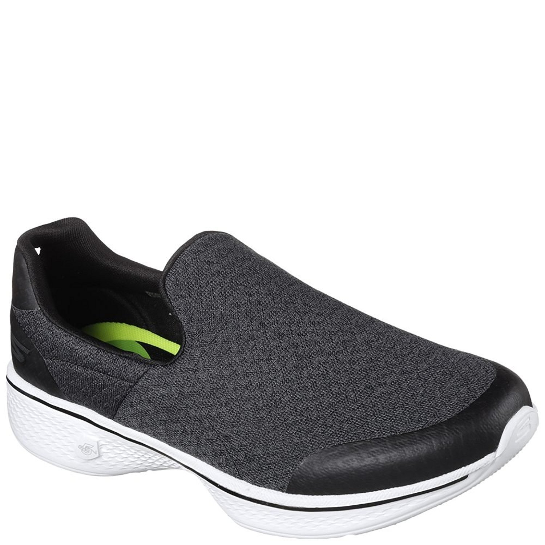 Skechers Performance Women's Go Walk Slip-On Walking Shoe (9.5 B(M) US, Black White Mix)