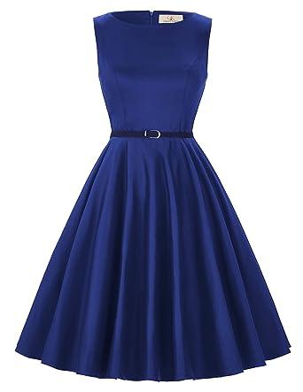 Vestito blu e nero amazon