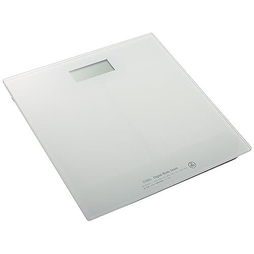 OHM デジタル体重計HBK-T100-W