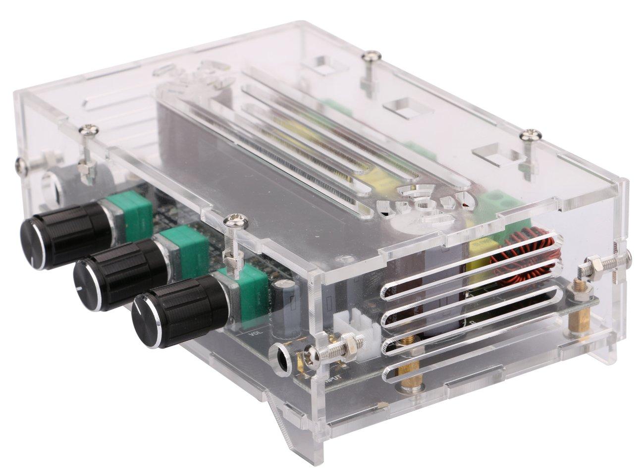 80w 80w 100w Digital Power Amplifier Board With Acrylic Case Yeeco
