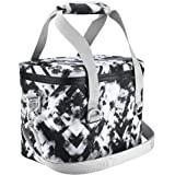 Homitt 10 Can Cooler Bag Soft Pack Cooler Insulated Soft Sided Cooler with Hard Liner and Heavy Duty Waterproof TPU Material for Taking Lunch, Camping, Sea Fishing, Trip to Beach, Picnic, etc.