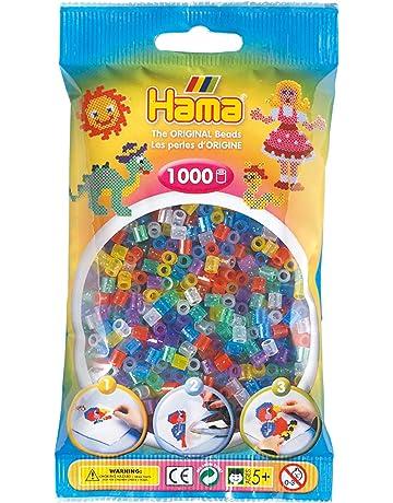 Basteln & Kreativität Hama Set 2000 Perlen Prinzessinnen 1 Platte Bügelperlen Bügelbild Spielzeug