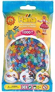 Hama 2052 4000 Perlen Und Zubehör Bügelperlen Dose Mit Ca