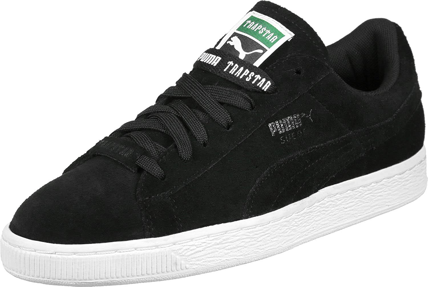Puma Men s X Trapstar Black Leather Running Shoes - 7 UK India (40.5 EU)   Buy Online at Low Prices in India - Amazon.in b5965261c