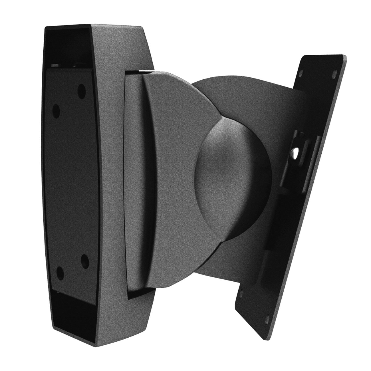 deleyCON 2 Universal Speakers Wall Mount 10Kg Swivel Rotatable Tiltable Full Motion Mount Bracket Wall Mount Multiroom Speaker