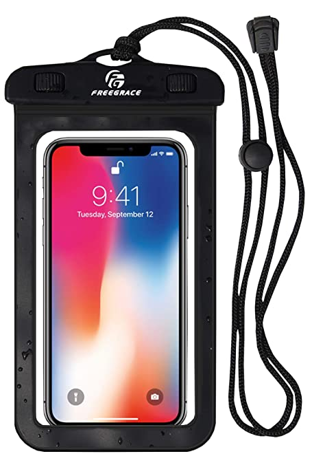 Freegrace Waterproof Phone Case with Neck Strap - Best Way to Keep Your  Phone and Valuables Dry and Safe