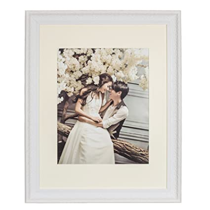 Amazon.com - Lilian 22x28 White Picture Frame - Made to Display ...