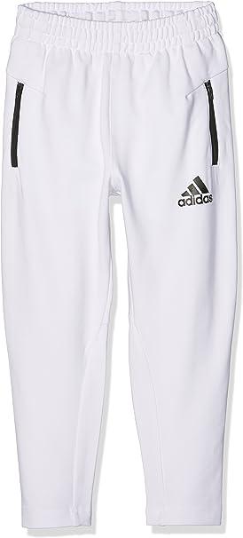 adidas YB AA ZNE KN PT Pantalon pour Garçon, Blanc 176
