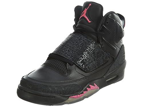 lowest price 17db6 ff20d Jordan Air Son of Mars (Kids) Black Hyper Pink
