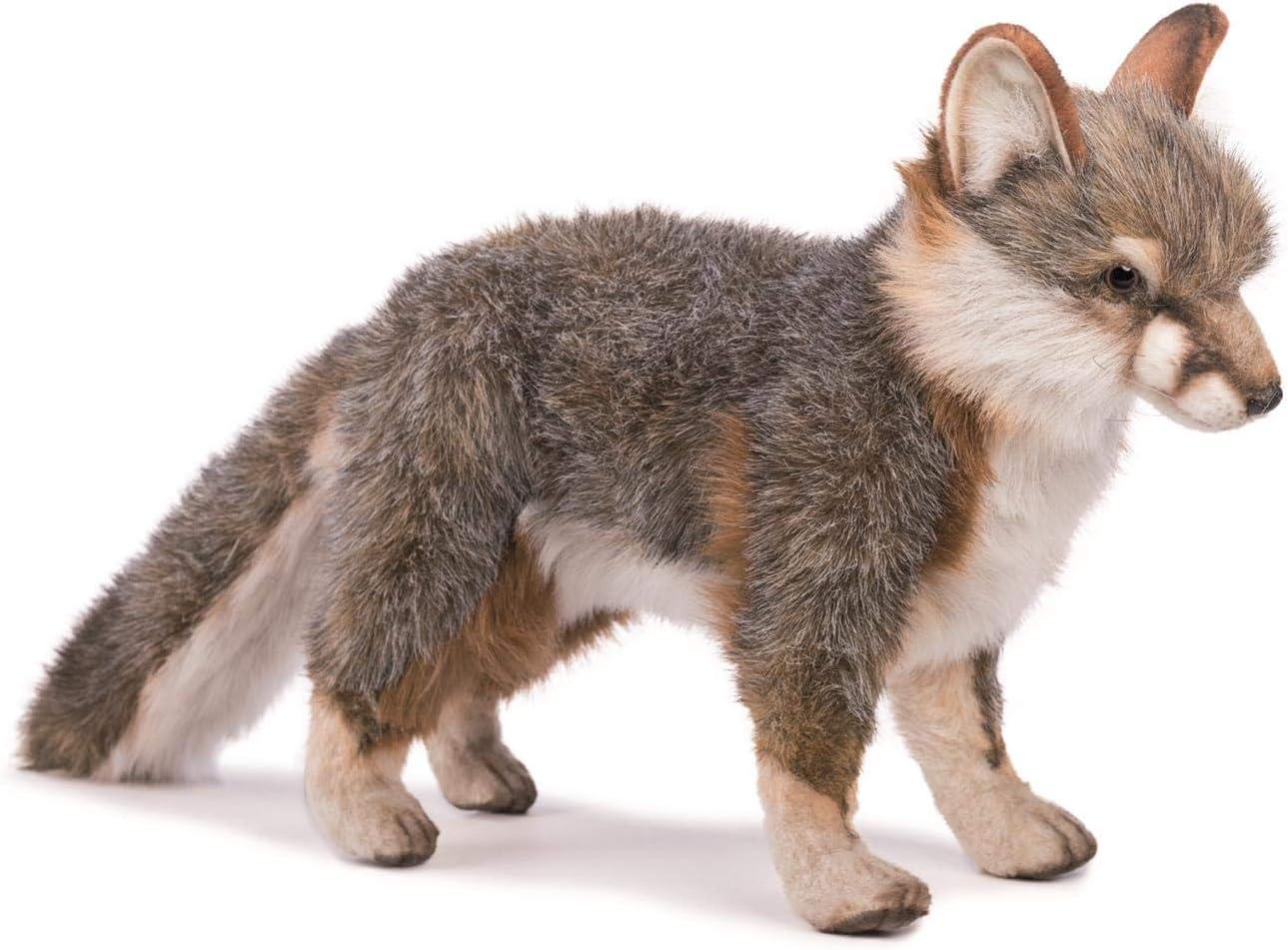 B001ISQUAW HANSA Fox Plush, Gray 71kAf26GKIL.SL1500_