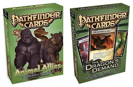 Amazon com: Pathfinder Dragons Full Color Deck Card Bundle Slay the