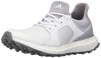 adidas Women's W Climacross Boost Ftwwht Golf Shoe White 5.5 B(M) US New