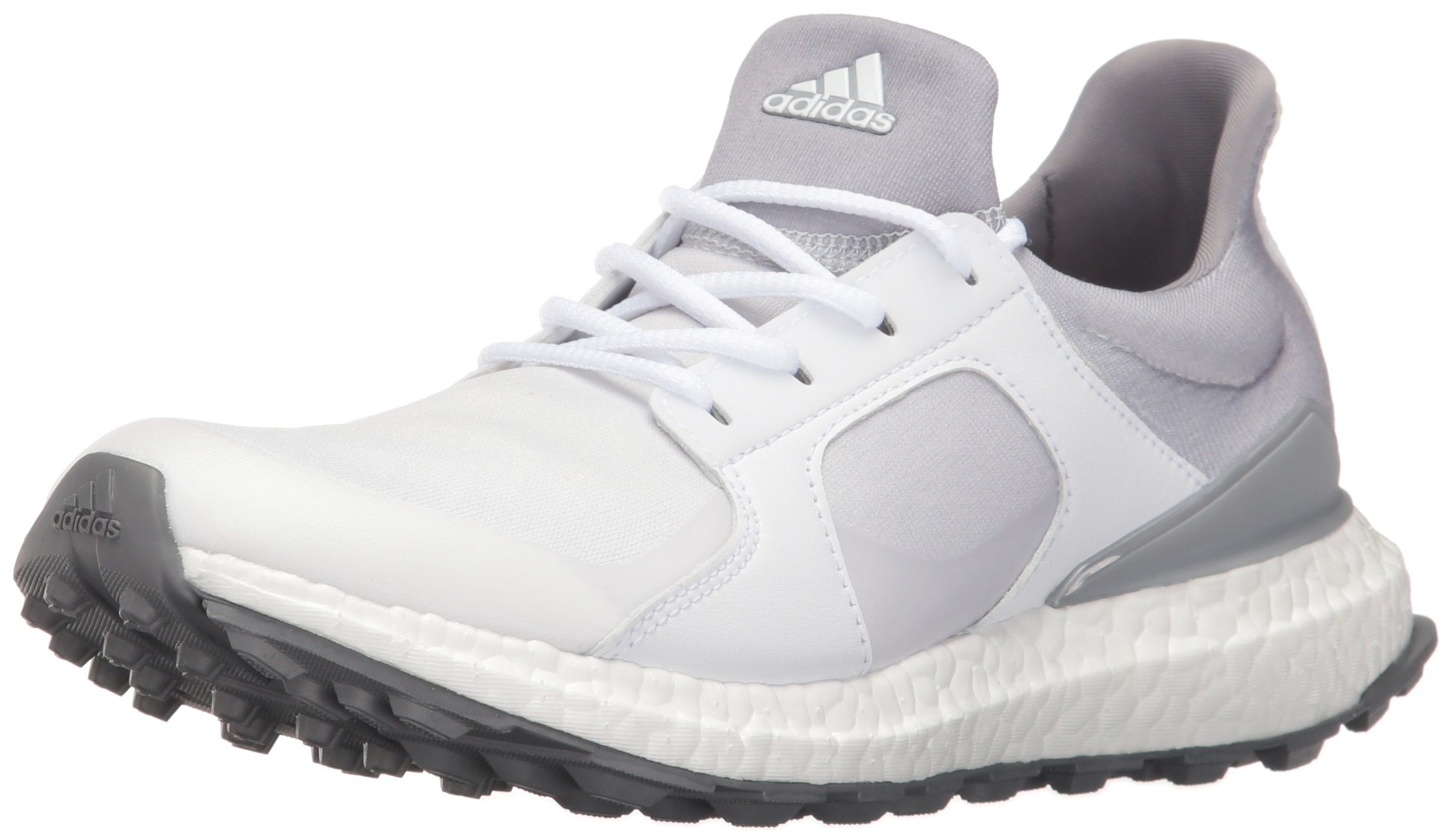 adidas Women's Climacross Boost Golf Shoe, White, 6.5 M US