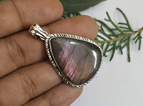 Labradorite 925 Sterling Silver Pendant