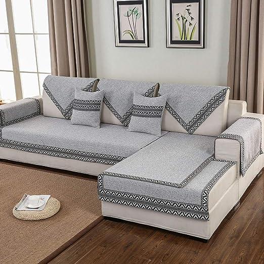 WJX&Likerr Cojín de sofá de Cuatro Estaciones,Sofá ...