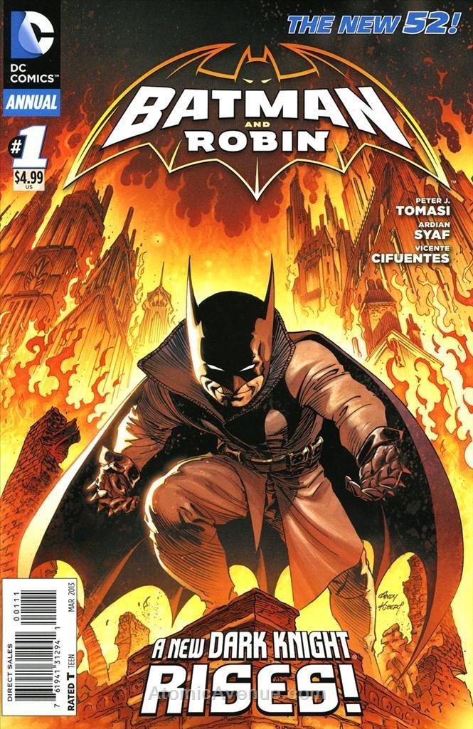 Batman and Robin (2nd Series) #Annual 1 pdf epub