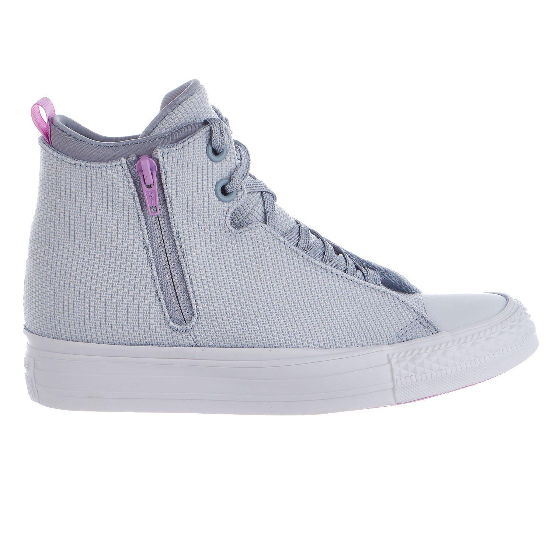 Converse Womens Chuck Taylor All Star Selene Shield Sneaker B01HQPDWDI 7 B(M) US|Blue/Fuchsia Glow/White