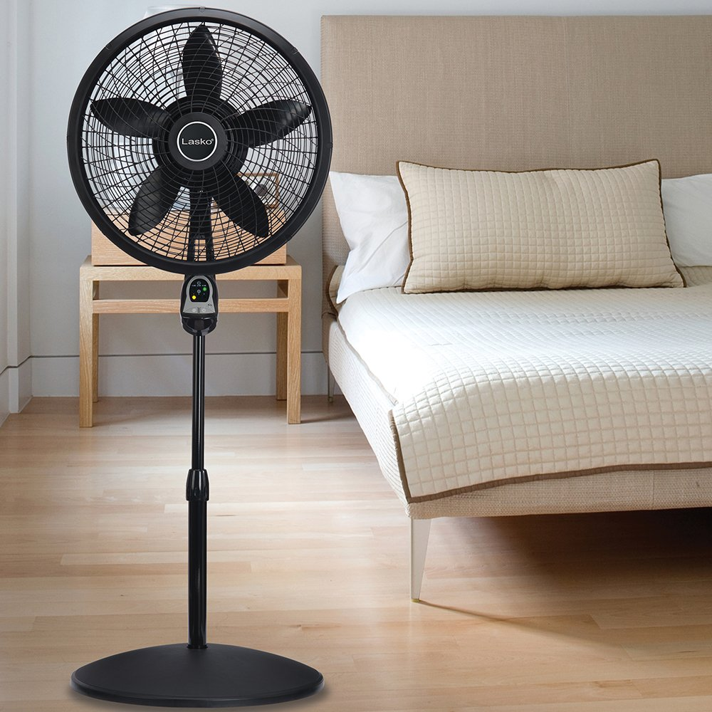 "Lasko 1843 18"" Remote Control Pedestal Fan Black Friday Deals 2020"