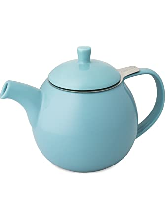 Forlife Curve 24-Ounce Teapot with Infuser, Turquoise