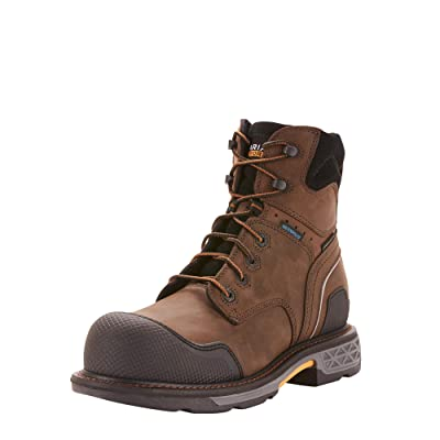 "Amazon.com | ARIAT Men's Overdrive XTR 6"" H2o Composite Toe Work Boot 