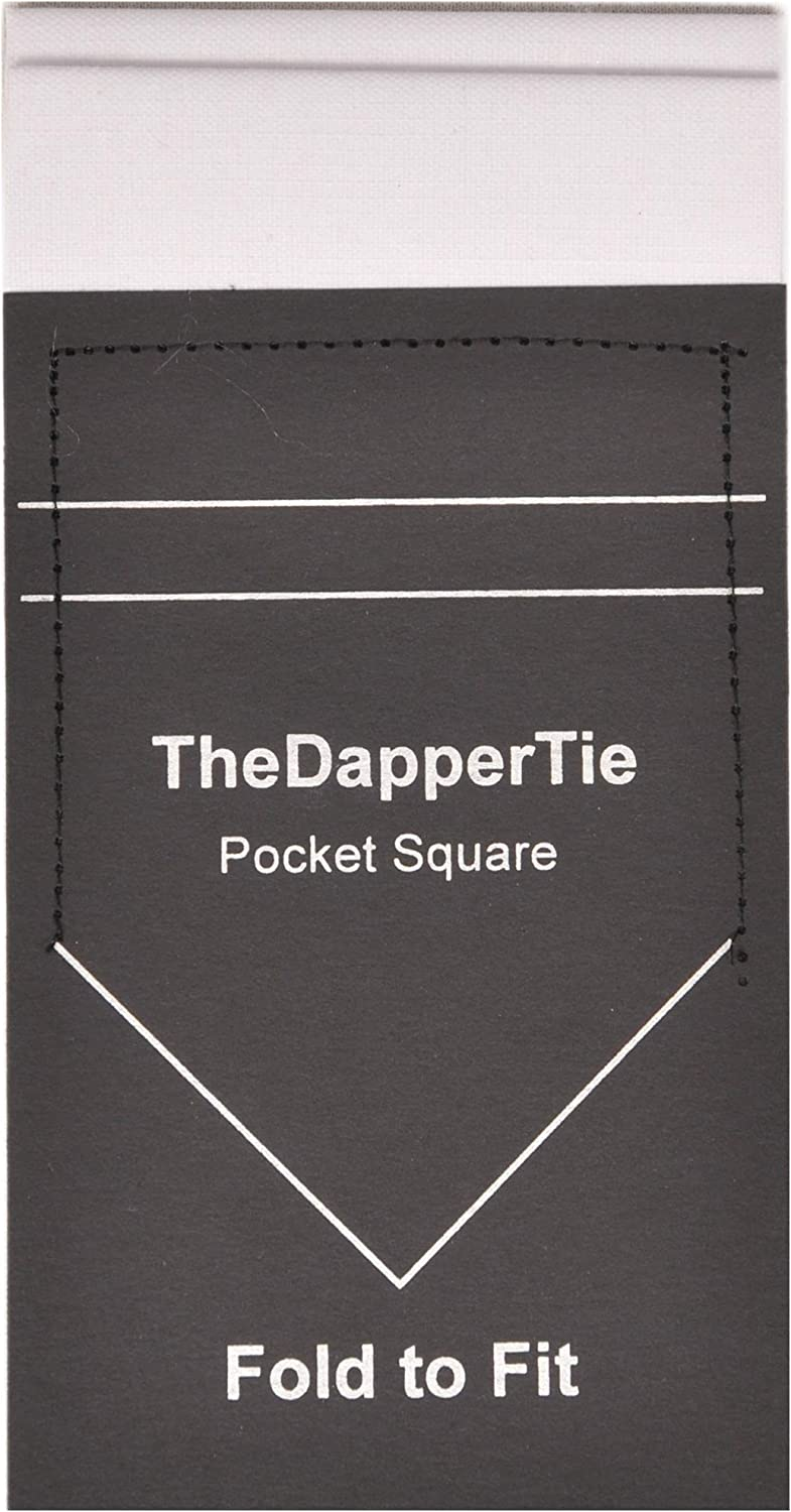 Mens Linen Flat Double Toned Pre Folded Pocket Square