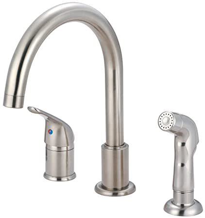 Amazon Com Pioneer 2pm331 Bn Premium 3 Hole Kitchen Faucet W Spray
