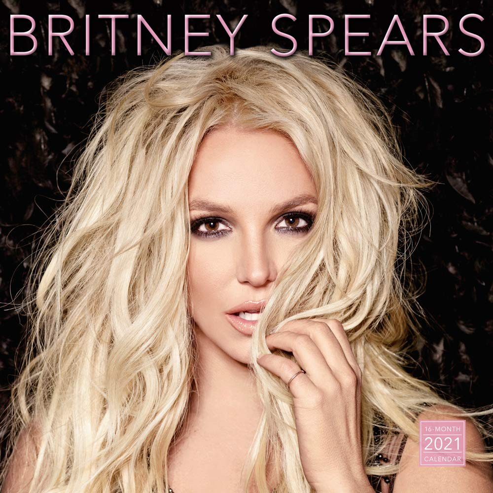 2021 Britney Spears 16 Month Wall Calendar: by Sellers Publishing