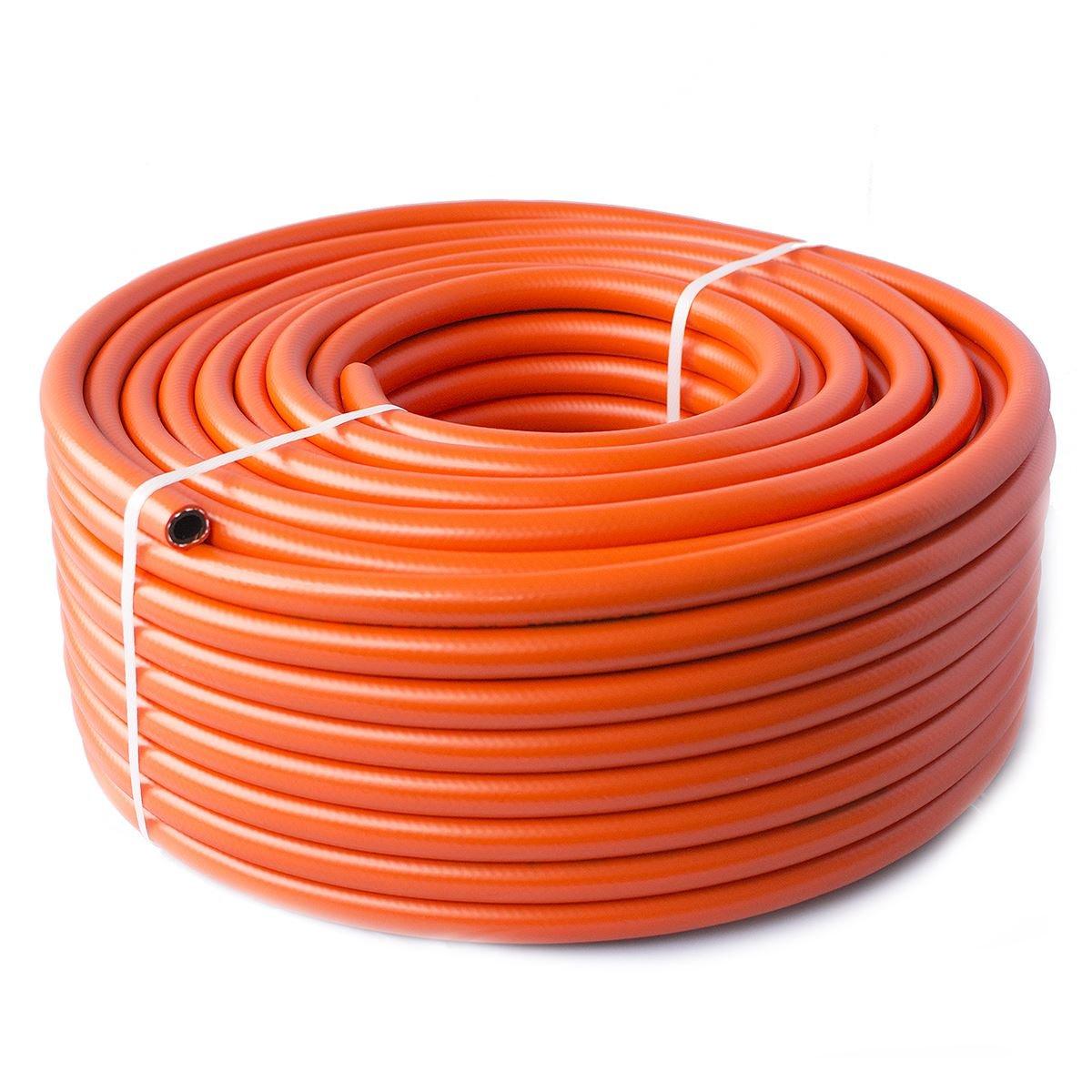 0.7m - Propane Butane LPG Gas hose pipe for Camping Caravan BBQ - High pressure - 8 mm Quantum Garden