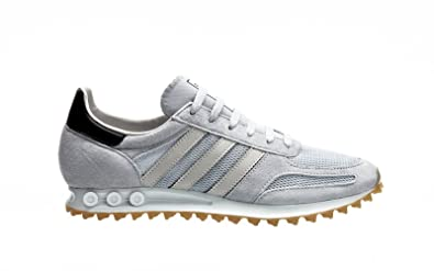 adidas Originals LA Trainer OG, Clear Grey Pearl Grey Gum, 3,5