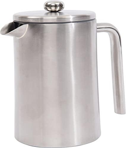 Wyndham House 1.2L 40.5oz Double Wall Stainless Steel 304 French Pre