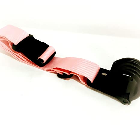 6b8da182a7b9 The J Hook Luggage Strap-Let Your Bag Tag Along! NOW AVAILABLE IN 4  COLORS!! (Pink)