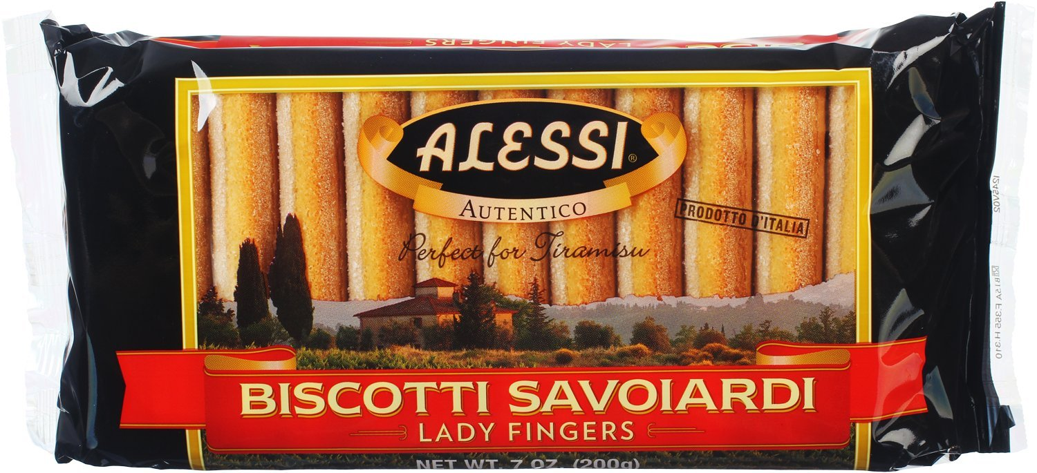 Alessi Savoiardi, Lady Fingers, 7 Ounce (Pack of 12) by Alessi